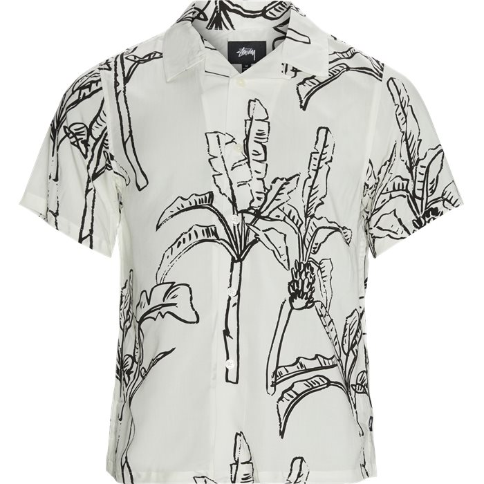 Banana Tree Shirt - Skjorter - Regular - Hvid
